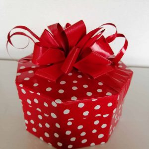 Red Polka Dot Box 20Chocolates