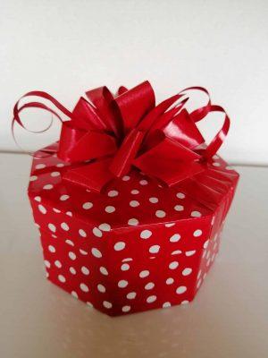 Red Polka Dot Box 20Chocolates