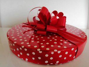 30 Red choc box
