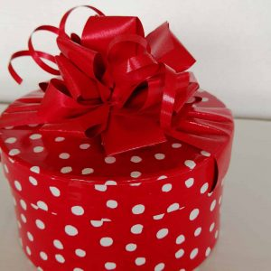 Red Polka Dot Box 8 Chocolates