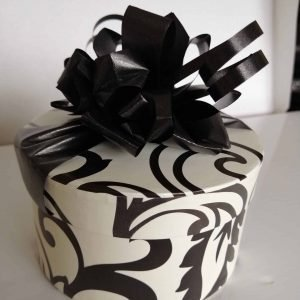 16 Black and white Choc box