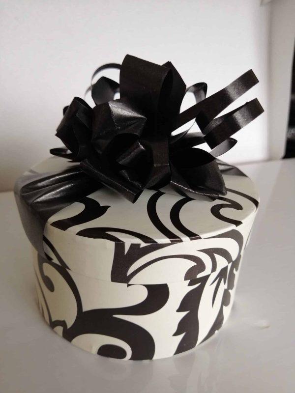 16 Black and white Choc box
