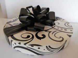 30 Black and white Choc box