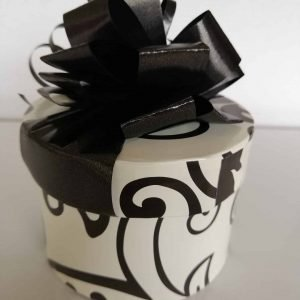 8 Black and white Choc box