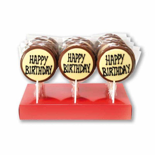 361 Happy Birthday Lollies £3.40