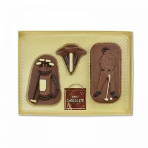 Chocolate Golfing Set