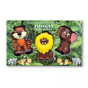 Jungle Animals Trio Chocolate
