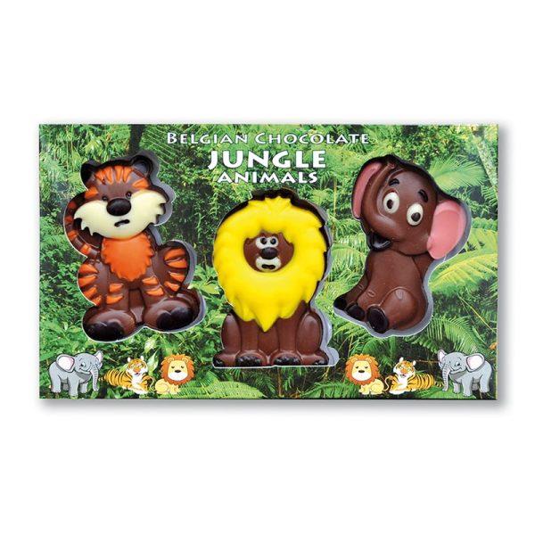 Jungle Animals Trio Chocolate