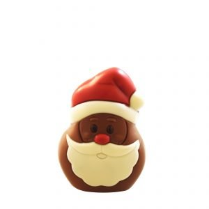 Milk Chocolate Santa Head